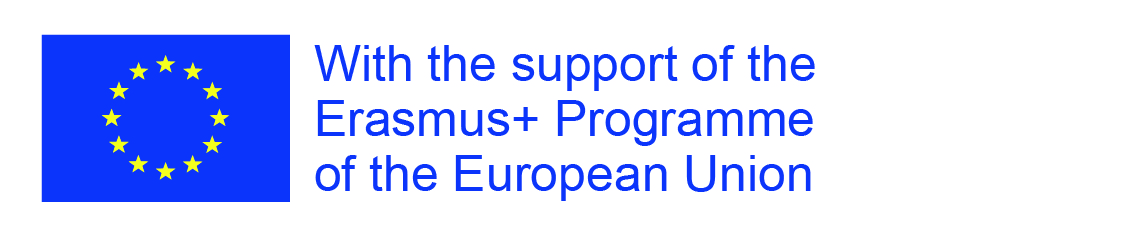 With support from Erasmus logo