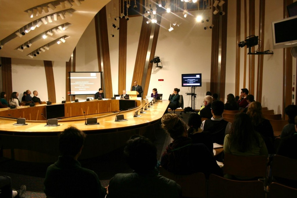 conflict minerals parliament discussion