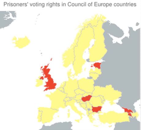 Does the UK parliament HAVE to give prisoners the vote?