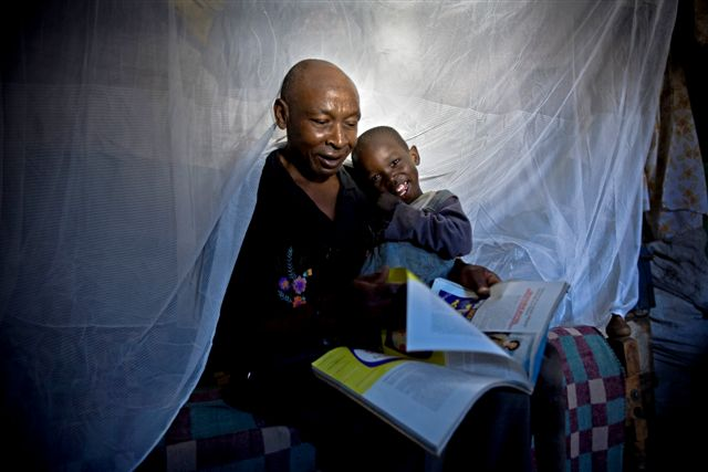 Foundations tend to specialise in technical fixes such as bednets and vaccines. Photo: Vestergaard Frandsen