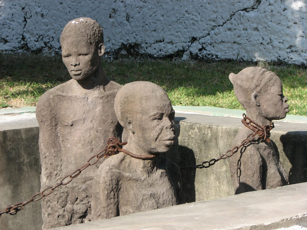 Slavery monument, Zanzibar Photo: Seyemon