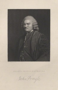 NPG D7822; Sir John Pringle, Bt by William Henry Mote, after  Sir Joshua Reynolds
