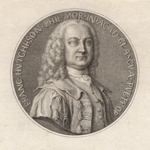 NPG D4399; Francis Hutcheson by Francesco Bartolozzi, after  A. Selvi