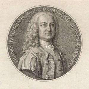 NPG D4399; Francis Hutcheson by Francesco Bartolozzi, after  A. Selvi