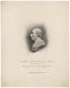 NPG D5598; Thomas Reid by Charles Picart, after  John Tassie