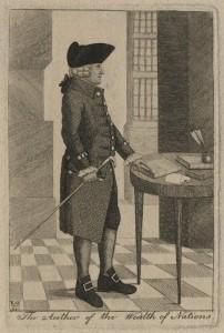 NPG D16843; Adam Smith by John Kay