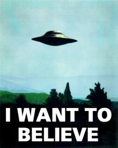 I want to believe (X-Files classic)